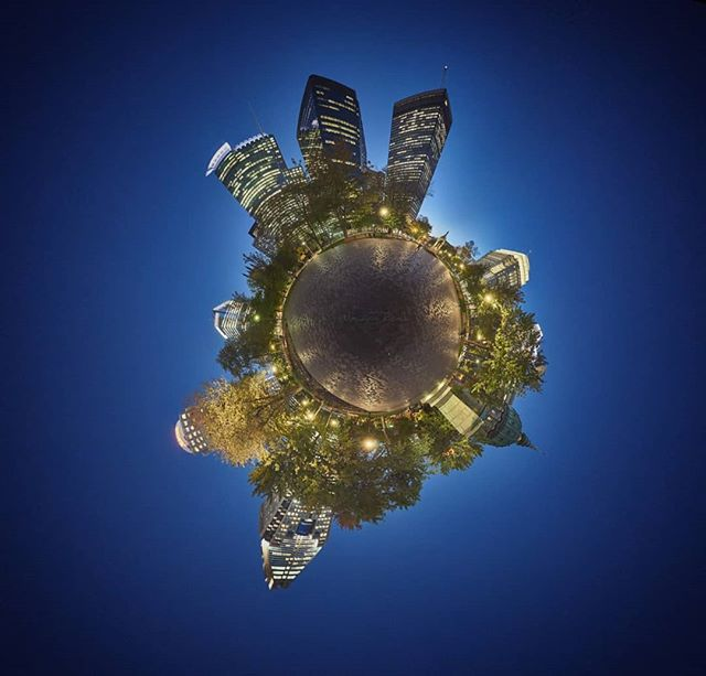 Place du Canada planet,  #canada Montreal #planet #littleplanet #night #city #nightcitylights #placeducanada