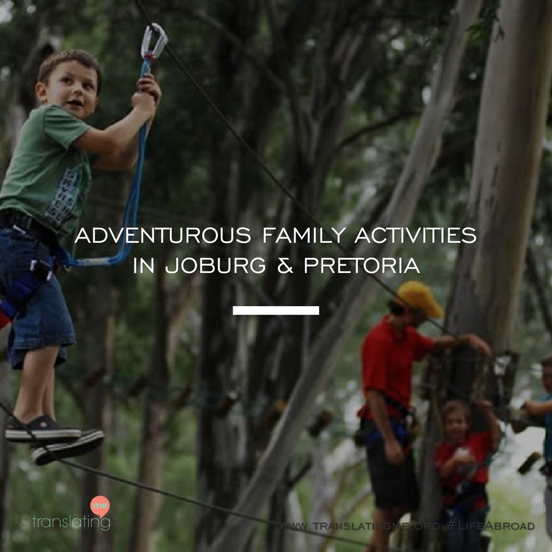 things to do with kids in Joburg Pretoria