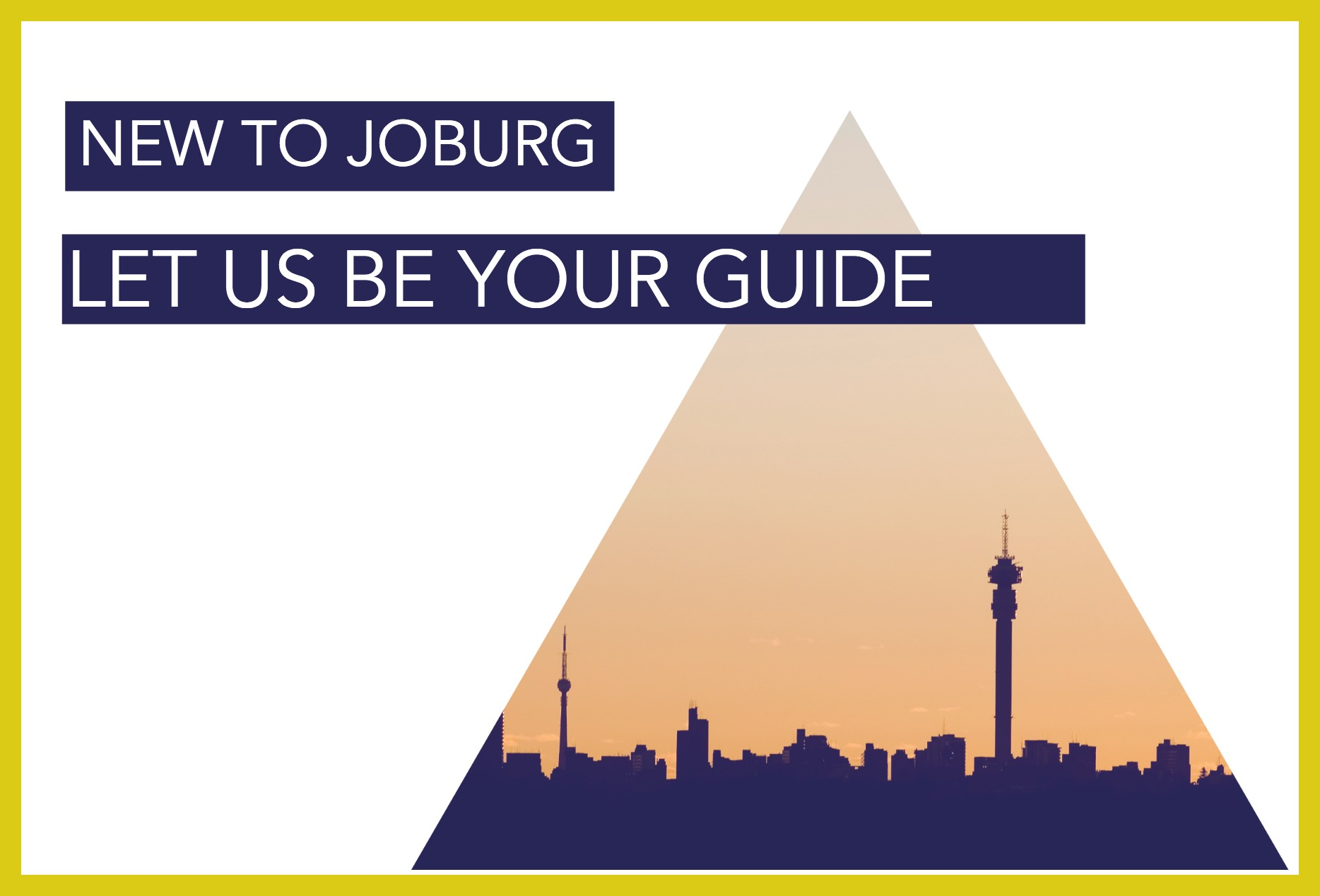 moving to Johannesburg