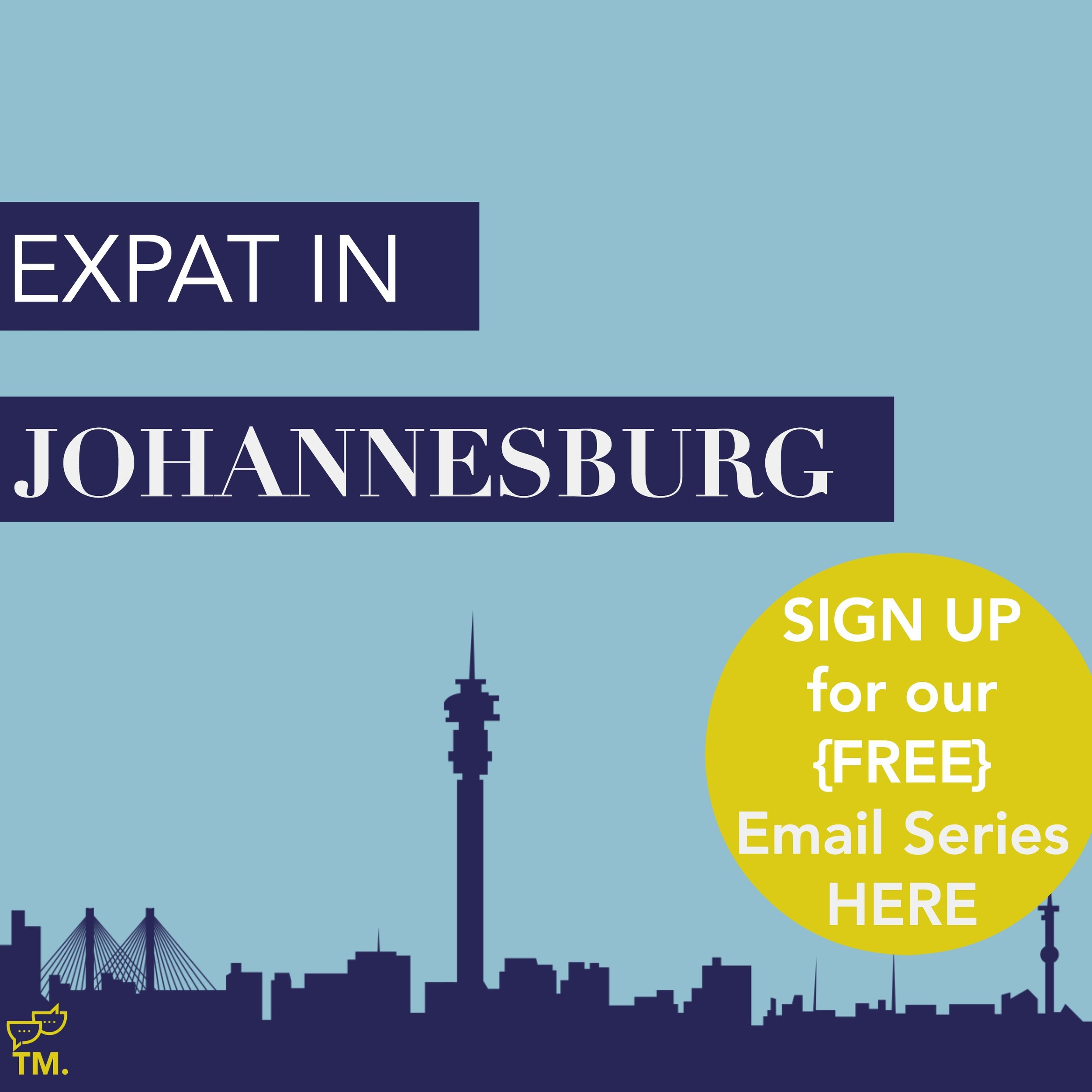 If you are an expat, or local who just wants to learn more about Joburg, sign up for our FREE Joburg email series.