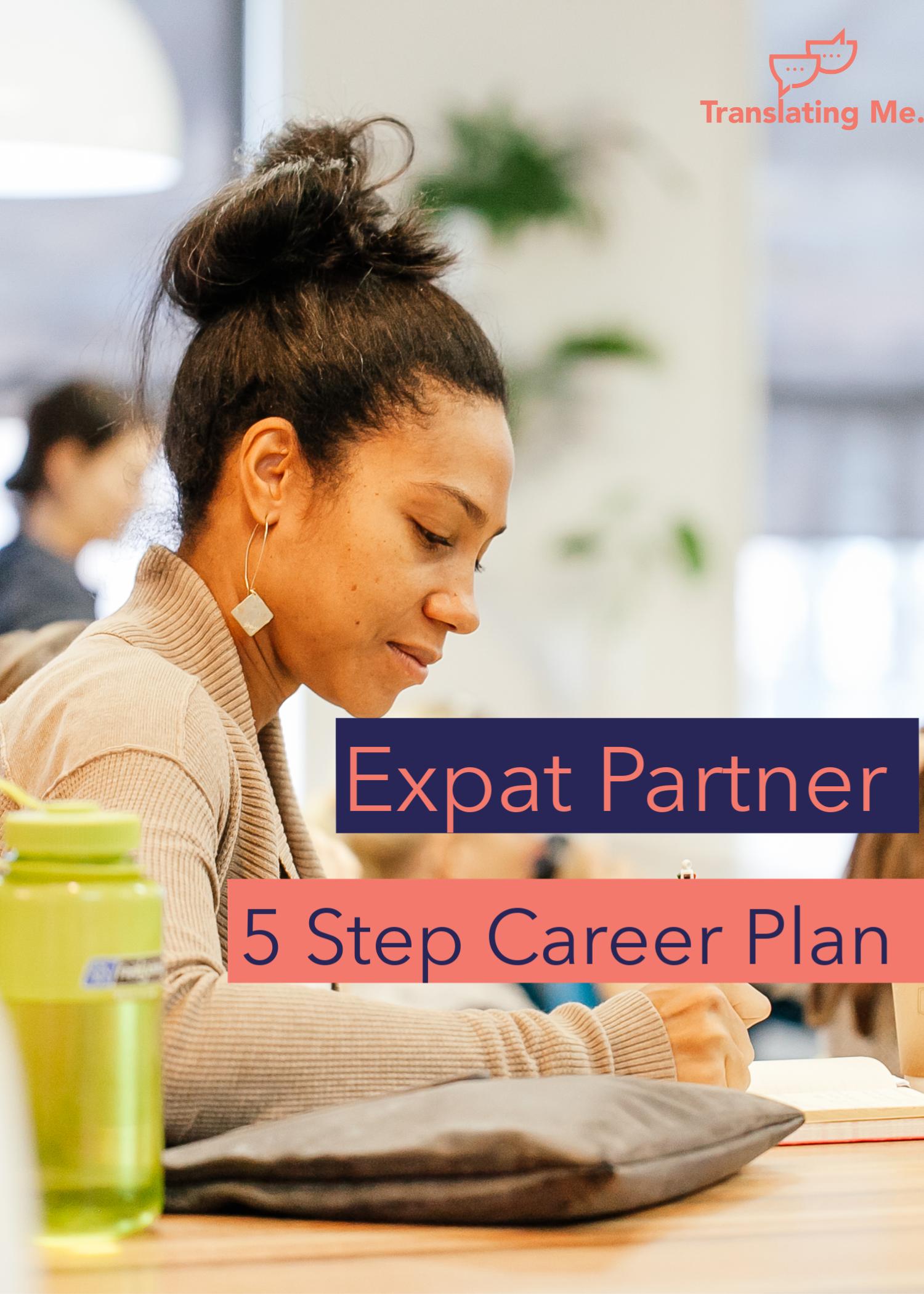 expat partner career