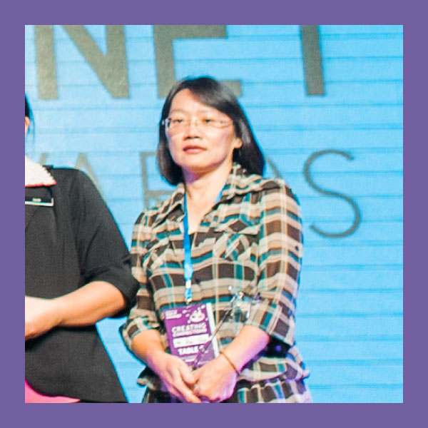 Ho Siew Hoon (CRITICAL THINKING AWARD)  SMK Seafield, Selangor   Spend time developing your site!   As teachers, if we don't spend time creating and developing our sites, how can we expect the students to visit the sites? My headmistress has encouraged the teachers in my school to create sites and she will publicise the most viewed monthly. During my school's Curriculum Week, the Additional Mathematics Panel created an IQ Puzzles competition which received attention from students from different forms to participate.    Interesting and informative!   Information can be made interesting! We should try making our sites interesting and embed resources from various other educational websites. If I just give the link and resources to my students, they may not watch or even open it. However, when I embed these links and videos onto my site, we will then watch it together in class and students can rewatch it from my site. Before starting a new topic, I embed an example of application of that topic in real life. This has continuously generated interest and excitement from the student.    Get students involved!   Encourage students to contribute to the content! It makes developing the site easier and they become more interested when they see their suggestions on the site. For example, for Add-Maths, I asked my student to look for appropriate graphs, videos and Thinking Maps (a widget on the FrogVLE that creates mind maps.). I make it a point to add them to my site if it is applicable and the students are excited to see their work on the site.