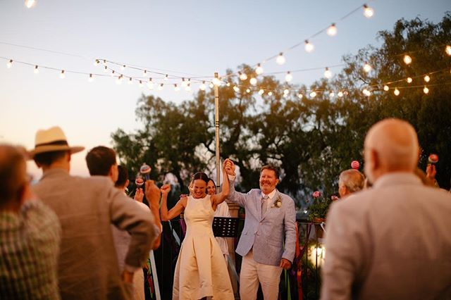 They did it! With sweeping views of San Miguel de Allende, their closest friends and family, not a dry eye in the crowd and the most beautiful sunset. #sanmigueldeallendeweddings