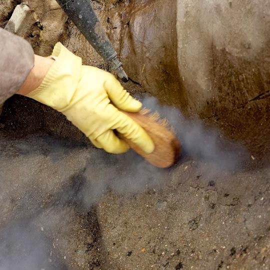 Nettoyage vapeur.