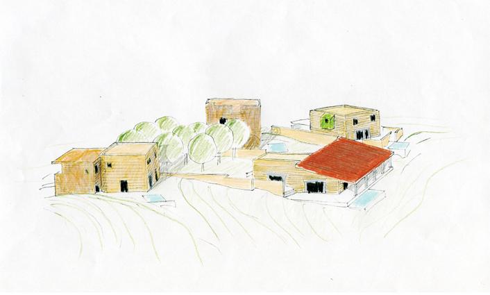 Quattro case in Toscana