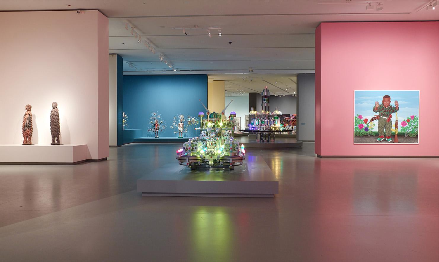 LES INTIÉS_Vue d'installation de l'exposition_2_photo ©Fondation Louis Vuitton - Marc Domage.jpg