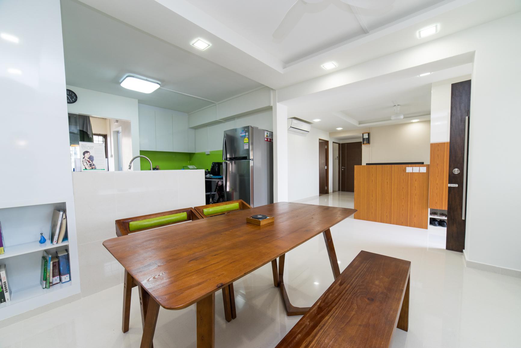 Renovation at Pasir Ris
