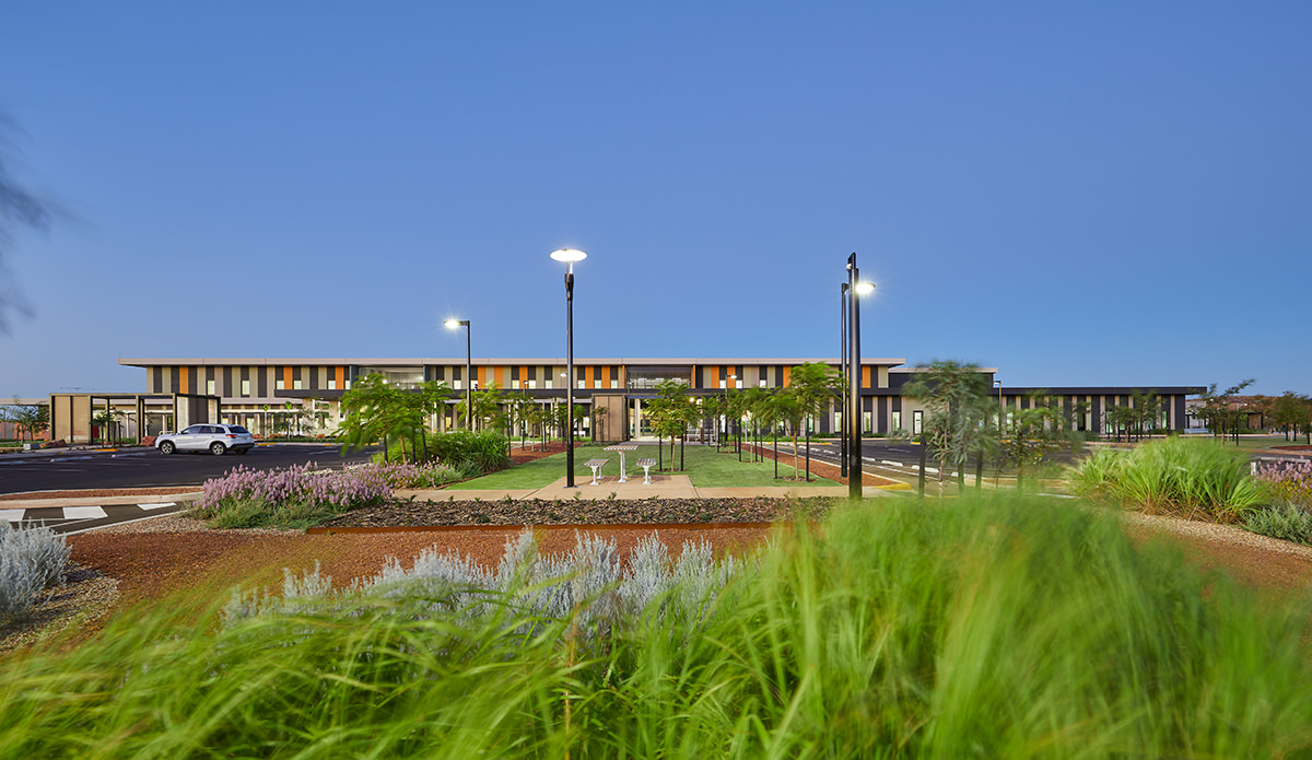 Karratha Hospital by HASSELL
