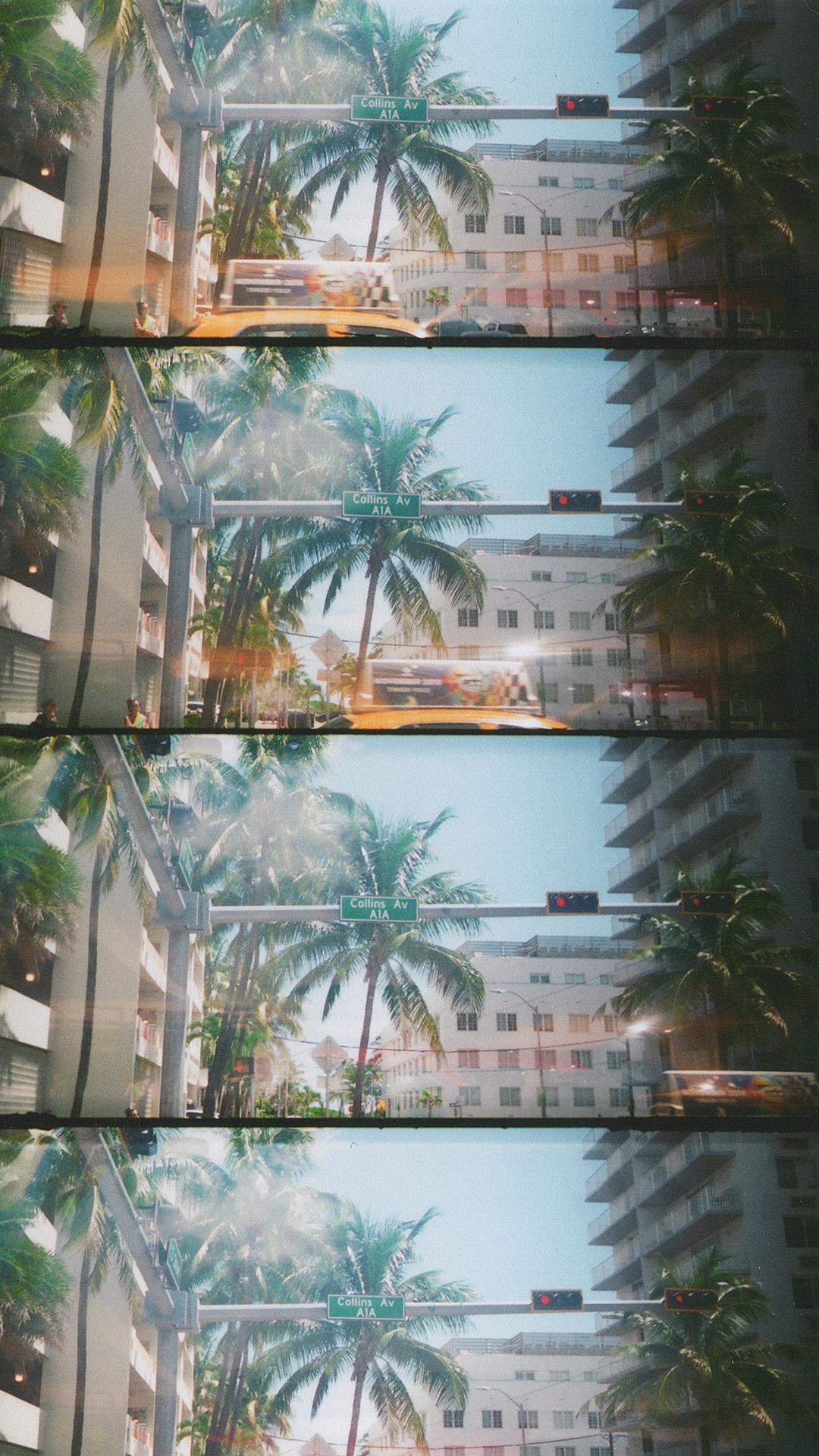 Miami em 35mm, 2018.