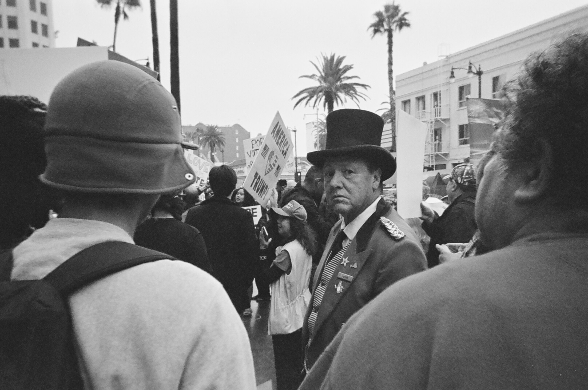 Los Angeles em 35mm, 2016.