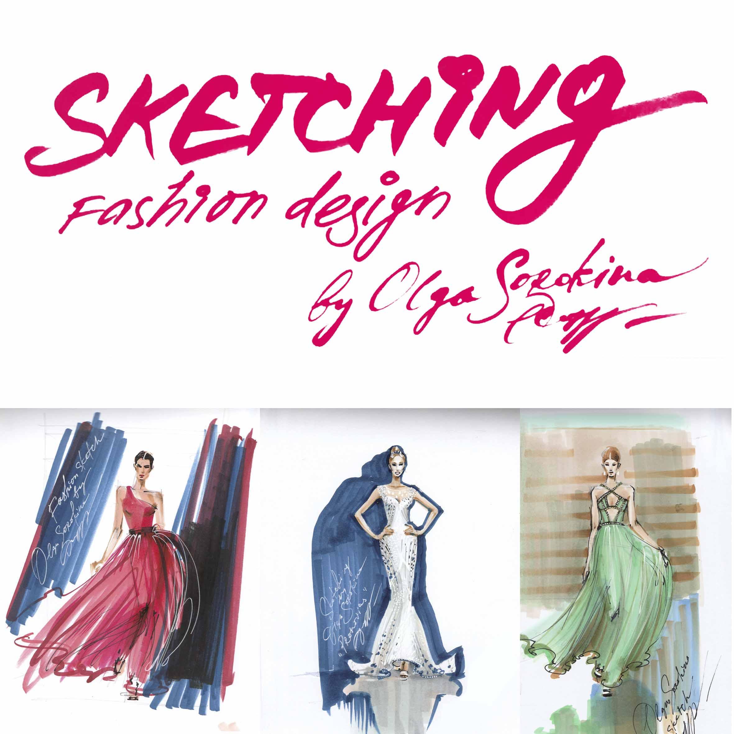 fashion design sketching