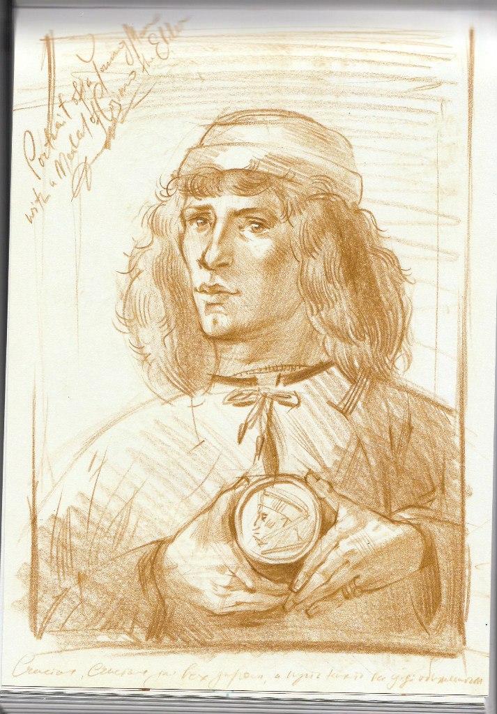 Сандро Боттичелли рисунок