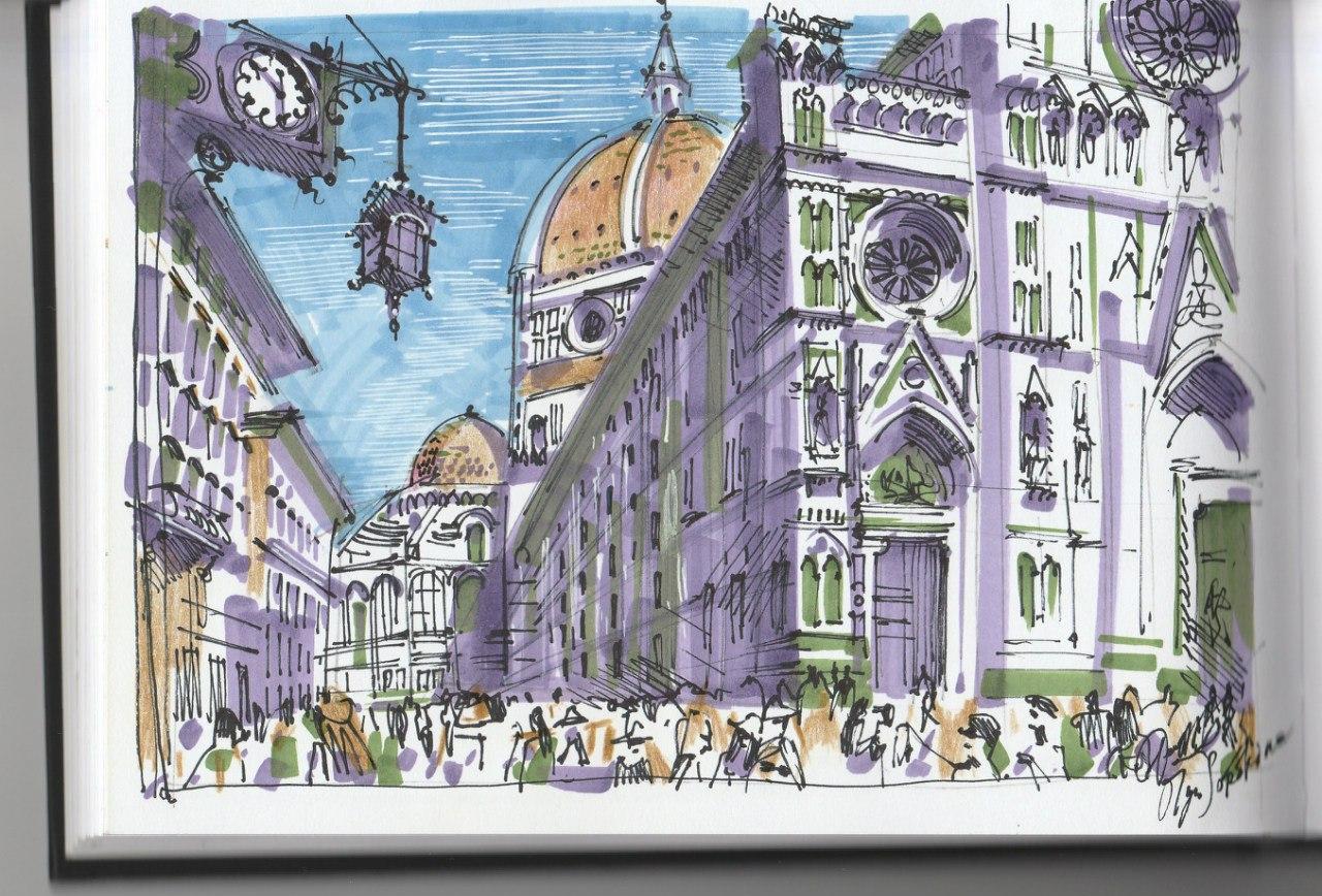 Зарисовки Италии