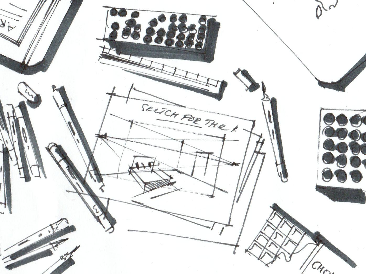 "Иллюстрация к моей книге-самоучителю по скетчингу   ""The СКЕТЧ"""