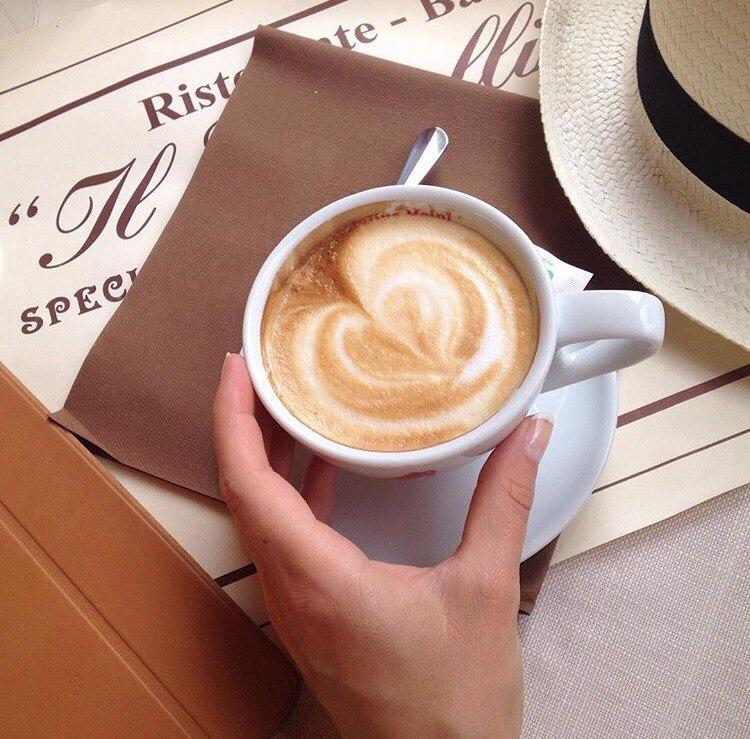 италия скетч рисунок кофе капучино