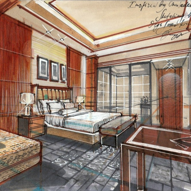 Online Sketching Courses For Interior Designers Olgaart888