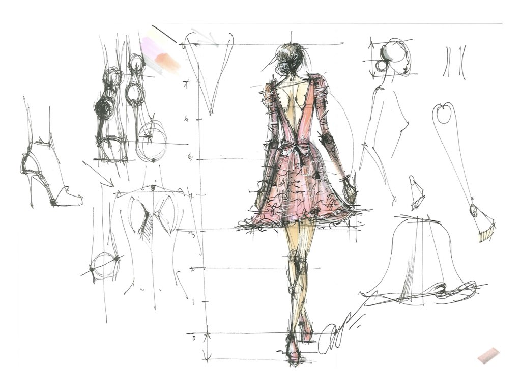 fashion illustration video course for beginners