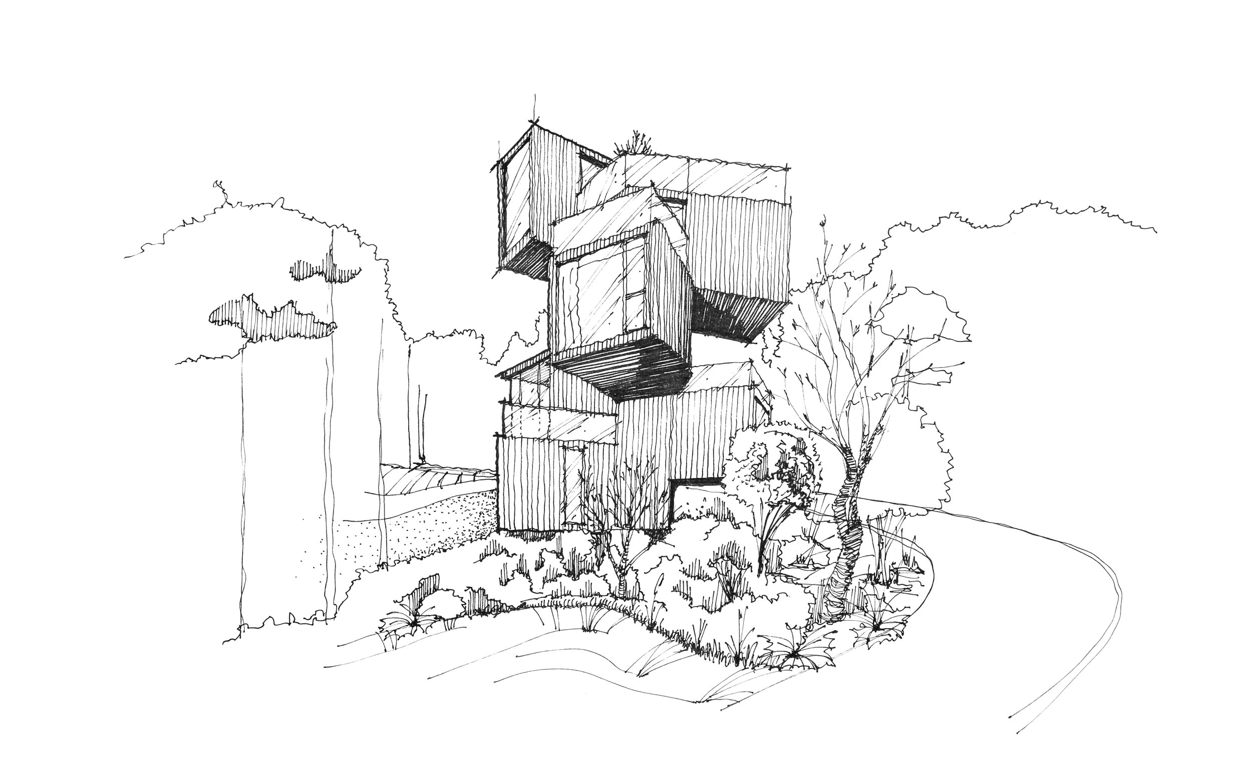 David Drazil sketch architecture