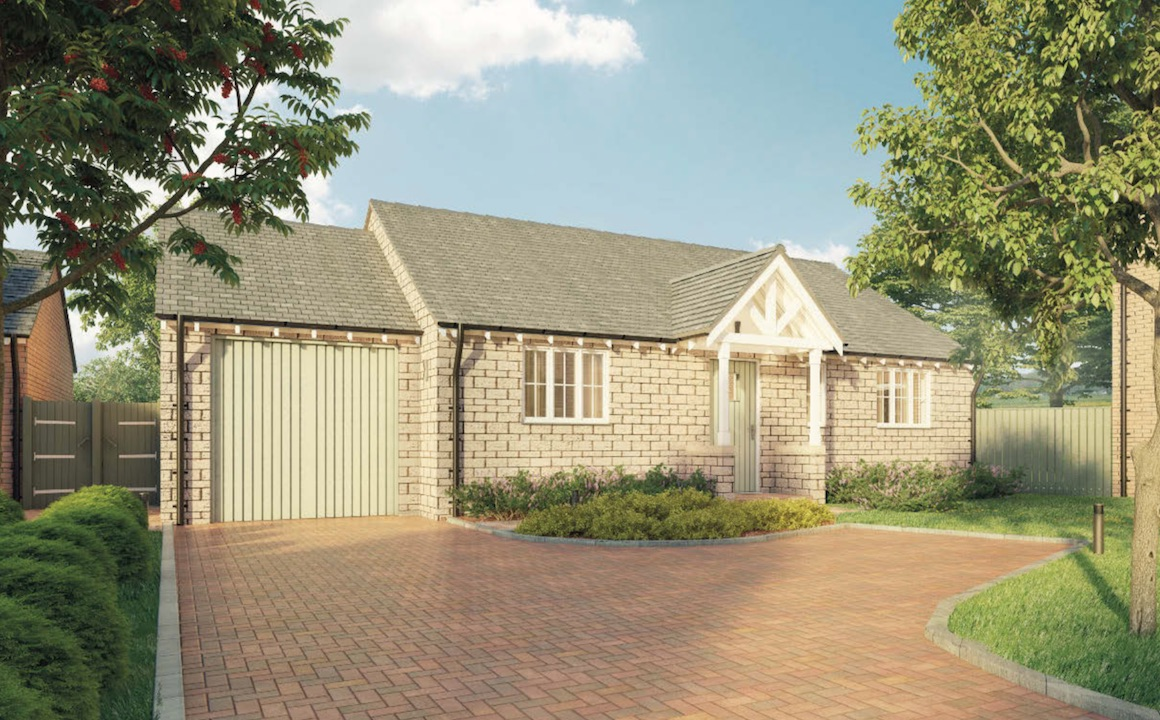 Plot 2 - 2 Bed Bungalow £295,000, see Plot 2 in Brochure for Details. Or view on Rightmove here