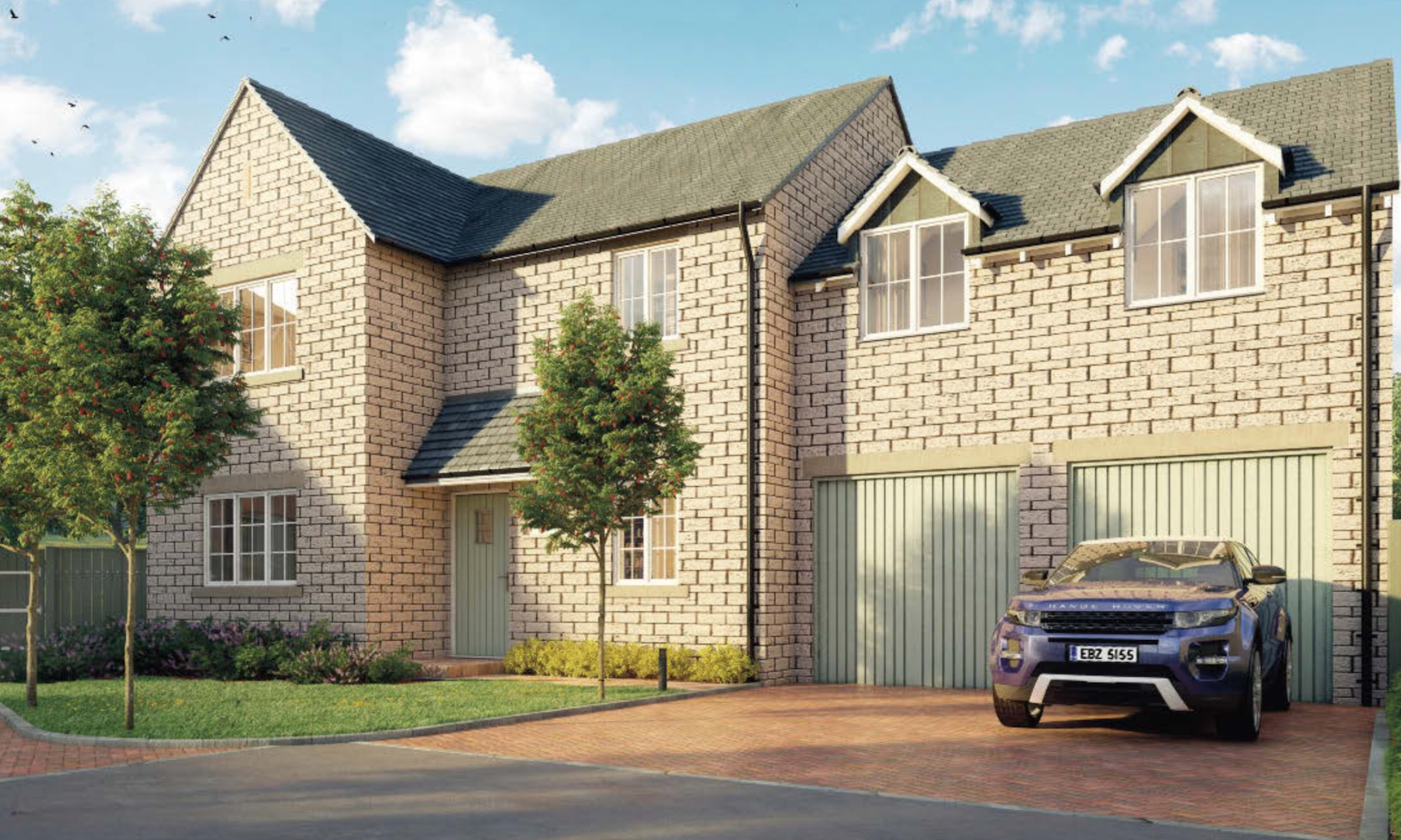 Plot 4 - 4 bed detached with double garage £479,950, see Plot 4 on Brochure for Details. Or view on Rightmove here
