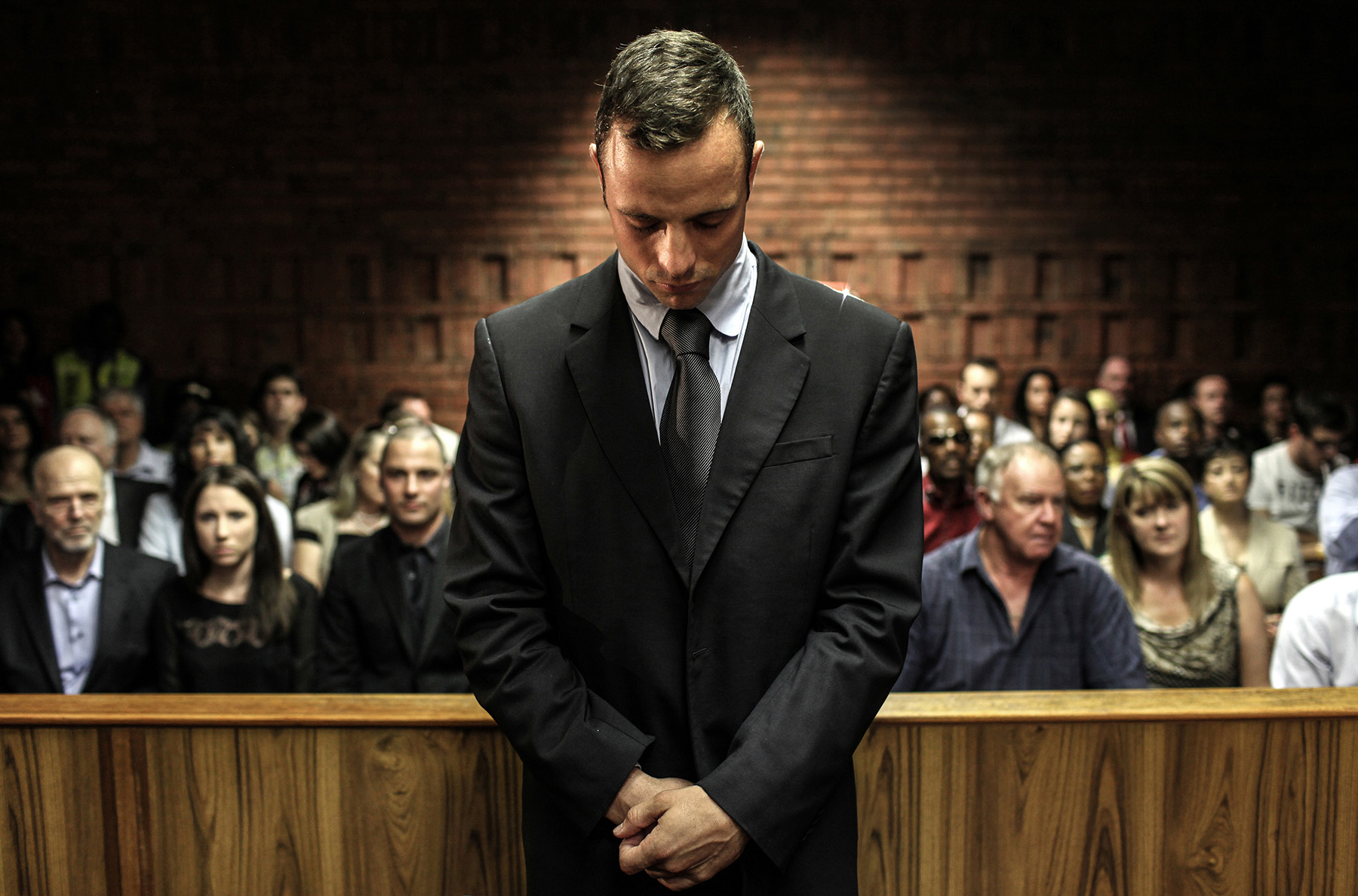 Oscar Pistorius case. South Africa. 2013.