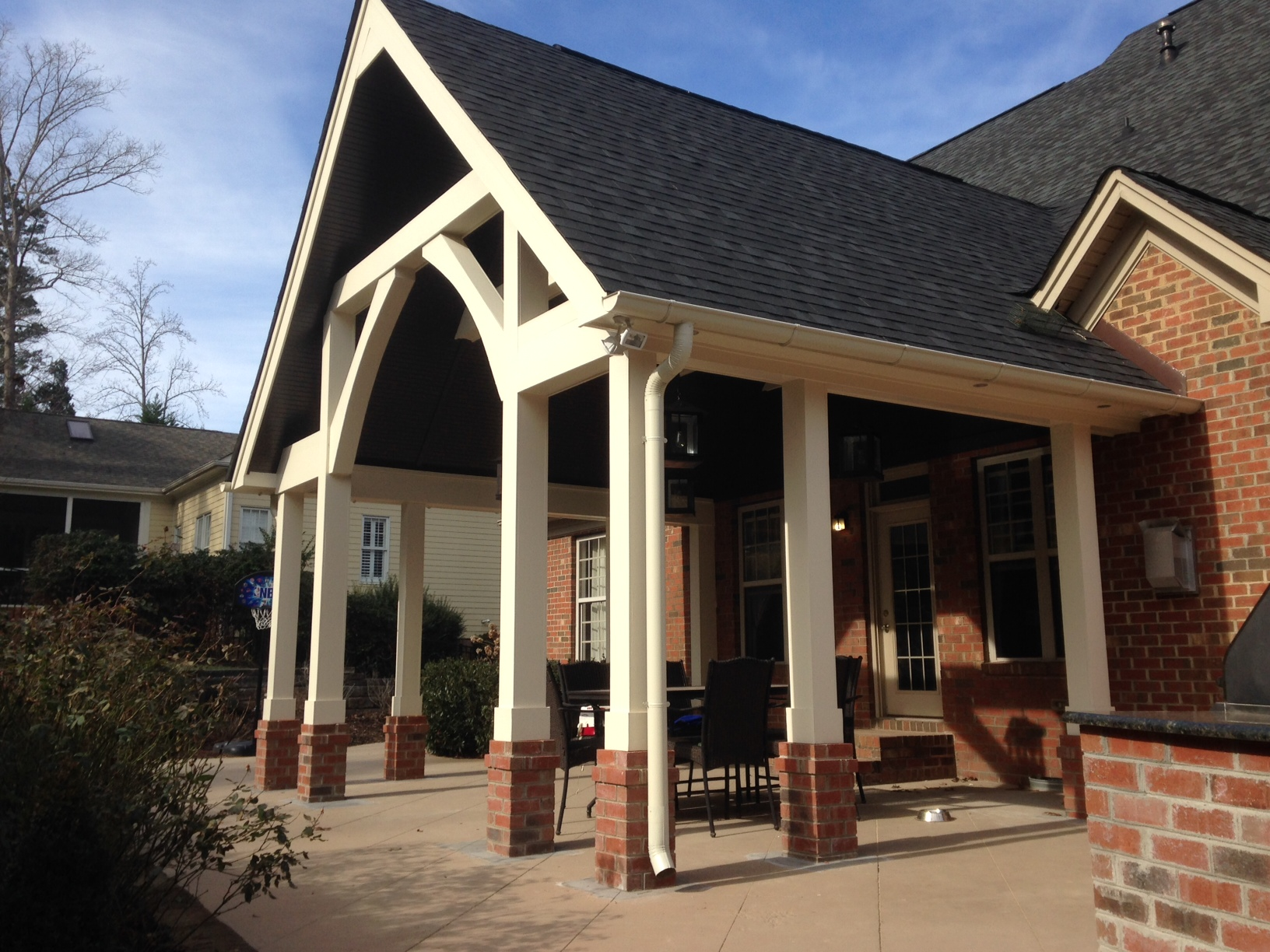Lake Wylie - Covered porch addition