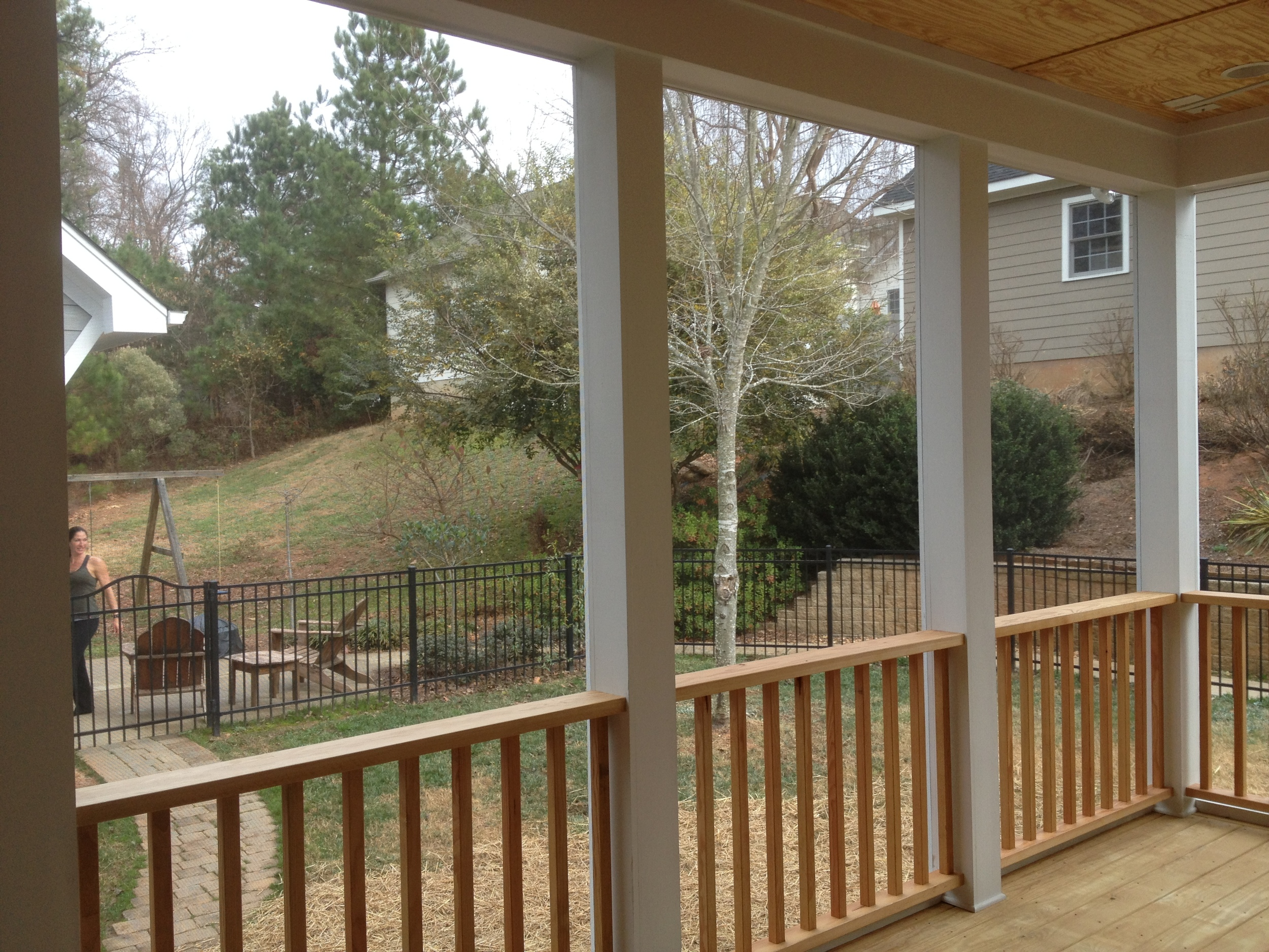 Baxter Village, SC - Covered Outdoor Deck