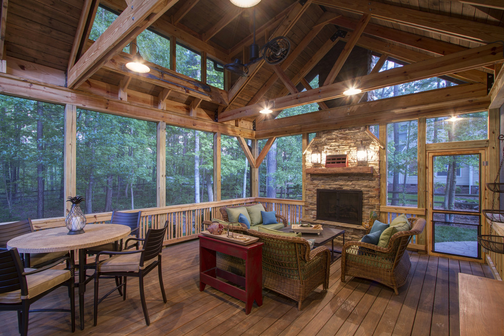 Lake Wylie, SC, Outdoor Living Area, Nik Radovanovic