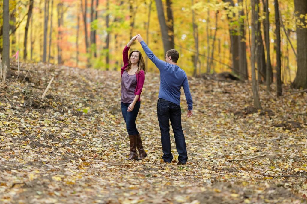 Autumn Engagement Sessions