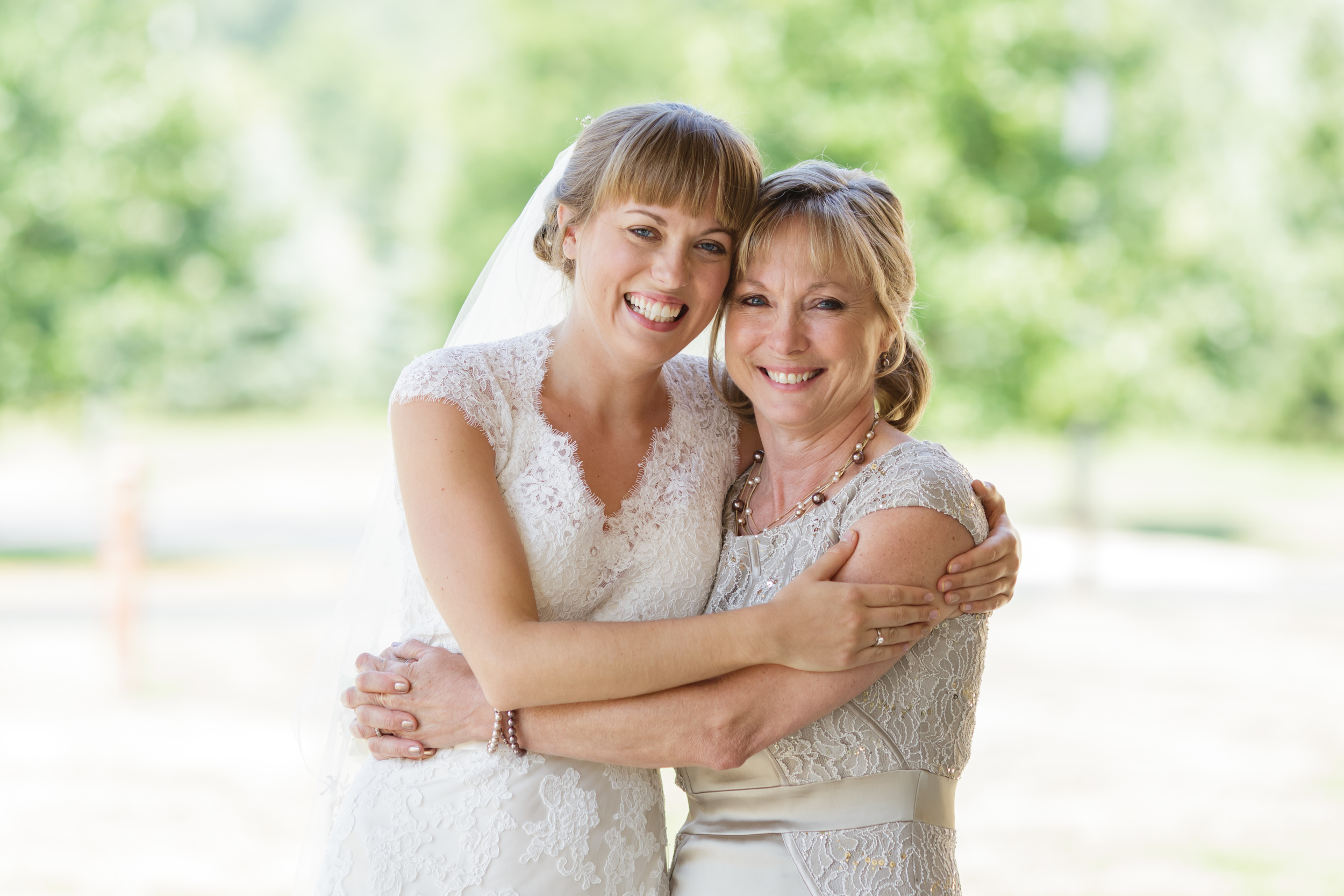You'd be surprised how few photos of Mother/Daughter happen at weddings. Walking down aisle, First Look, and First Dance - they all belong to Dad. But Mothers and Daughters? *sigh* Worth capturing, worth celebrating.