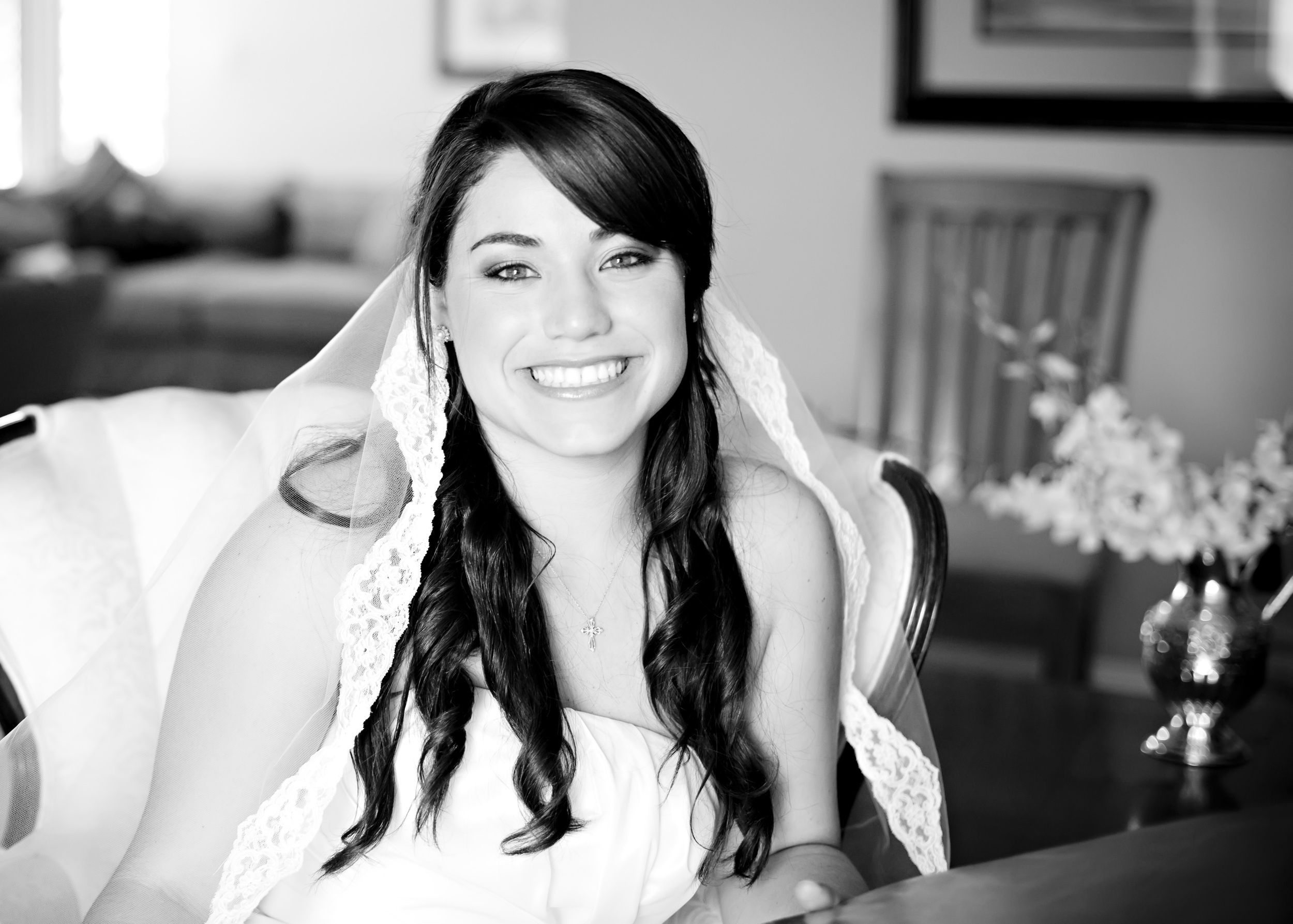 the beautiful bride who received the gift of visiting her ailing Mom on her wedding day.