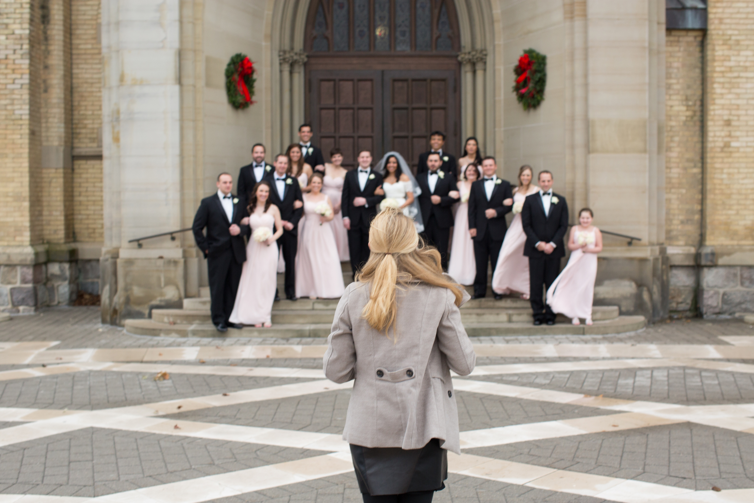 Coldest end of the year wedding ever. Michael & Ani's Grand Rapids Wedding.