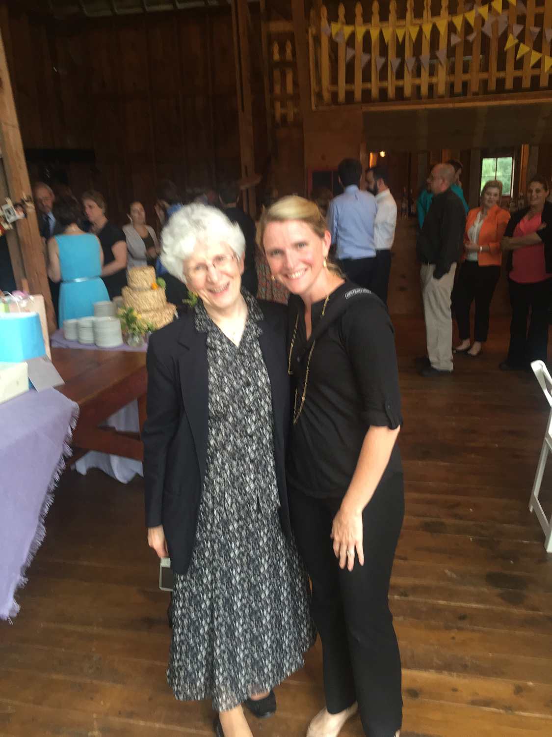 I LOVE making people connections - realizing a very special nun from South Dakota who has mutual friends is at the wedding you're shooting means a photo is needed!