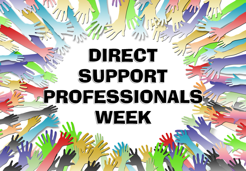 Direct Support Professionals Week graphic