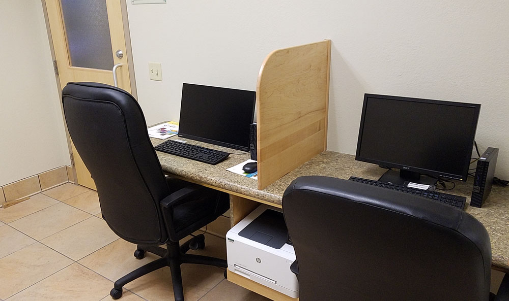 Photo of Decision Support Center in DCI's Main Office in Ridgway