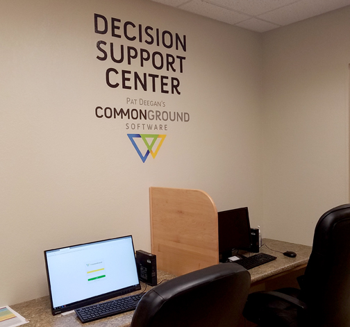 Photo of Decision Support Center