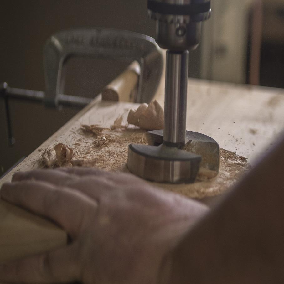Photo of drill press