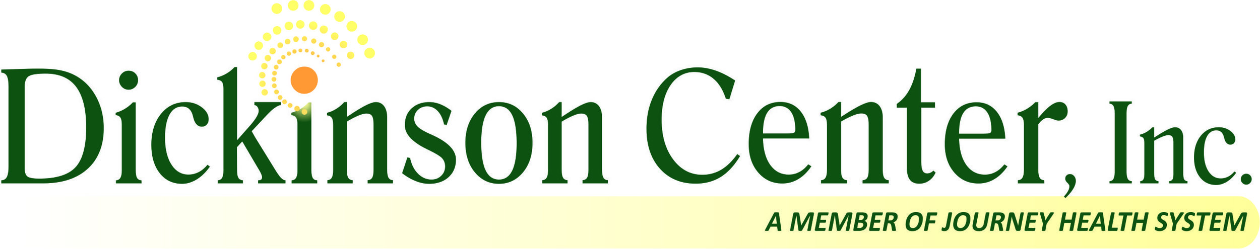 Dickinson Logo with Journey Health Tagline