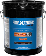 Roof X Tender® 200  Rubber ROOF SEAL™ SB Black Rubberized Coating