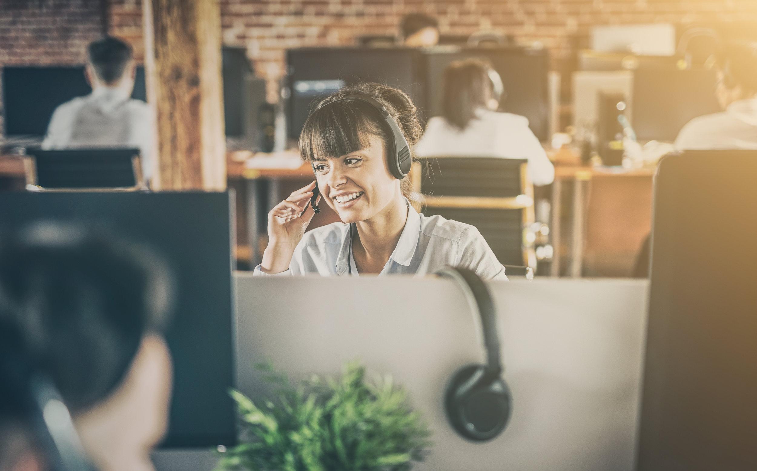 A plataforma mais simples e fácil de atender seu clientes, inclusive pelo telefone -