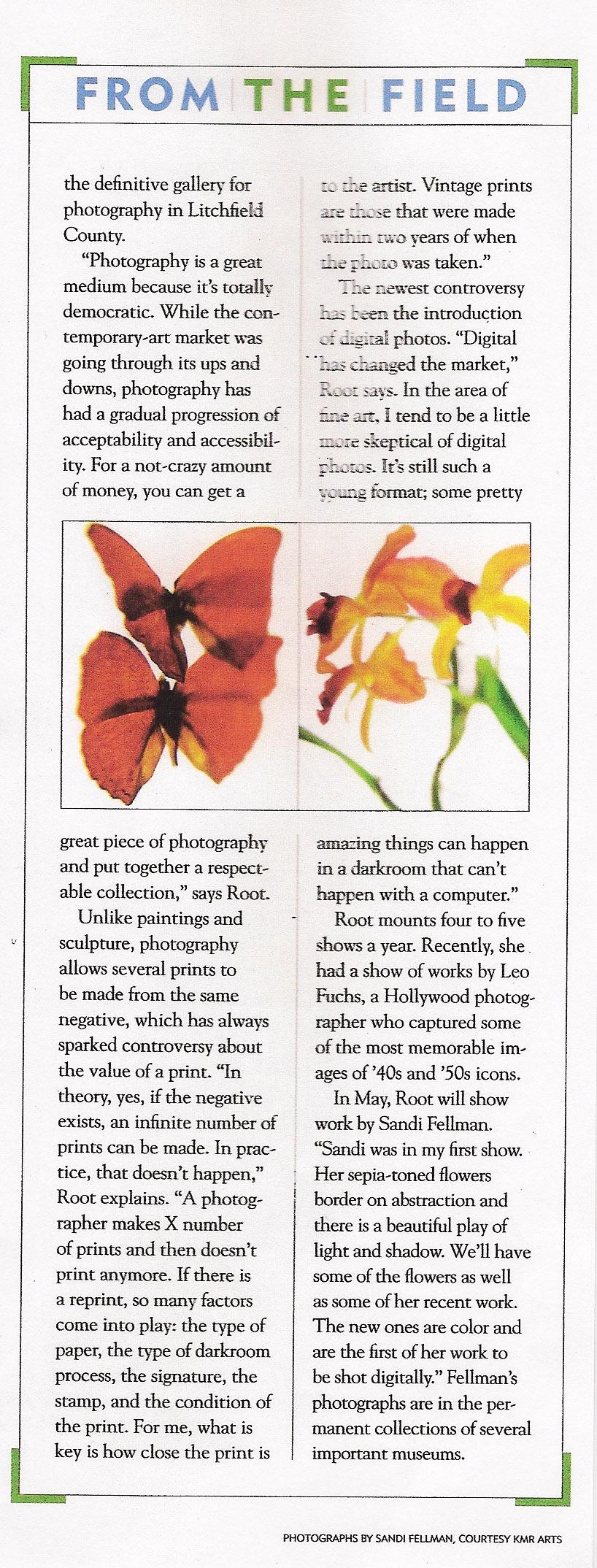 Through The Lens, pg2. May_June 2011. Litchfield Magazine. jpg.jpg