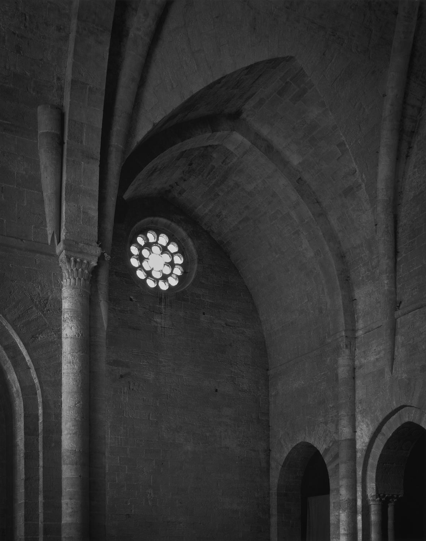 Frontispiece: North Transept, Silvanes, 1995