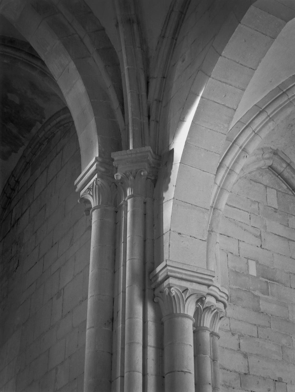 Capitals of the Ambulatory, Pontigny, 1990