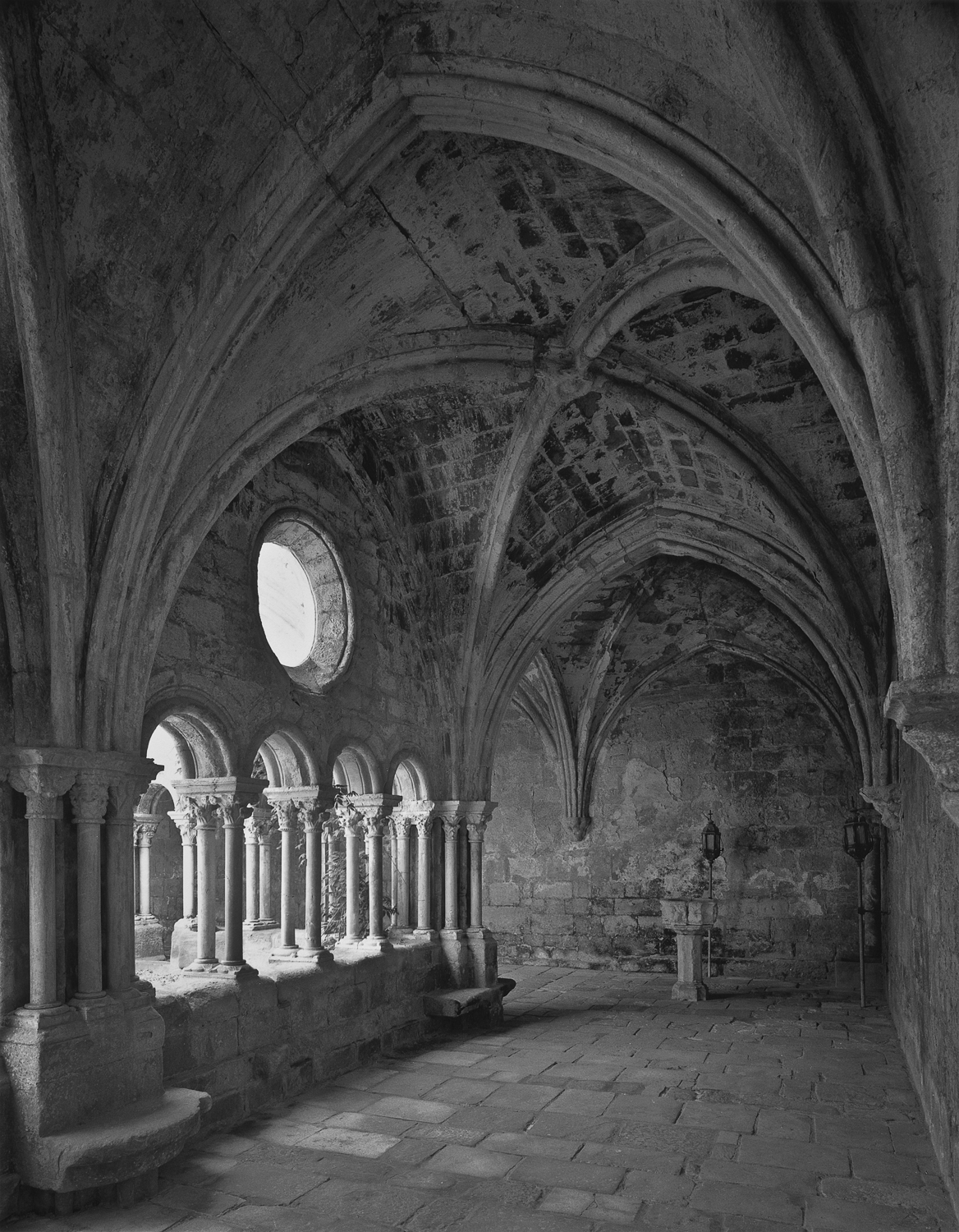 West Cloister Gallery, Fontfroide, 1995