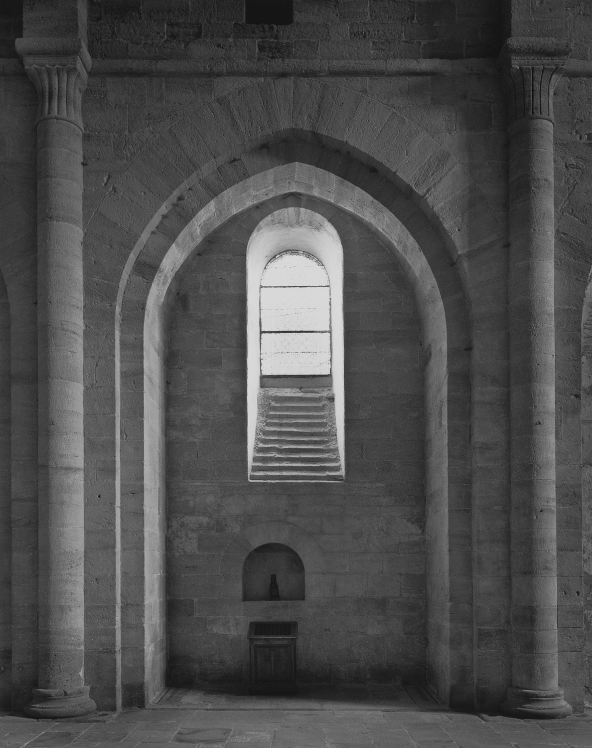 Chapel, South Side of Nave, Silvanes, 1995