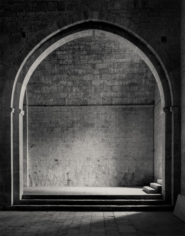 Entrance to the South Aisle, Le Thoronet, 1986