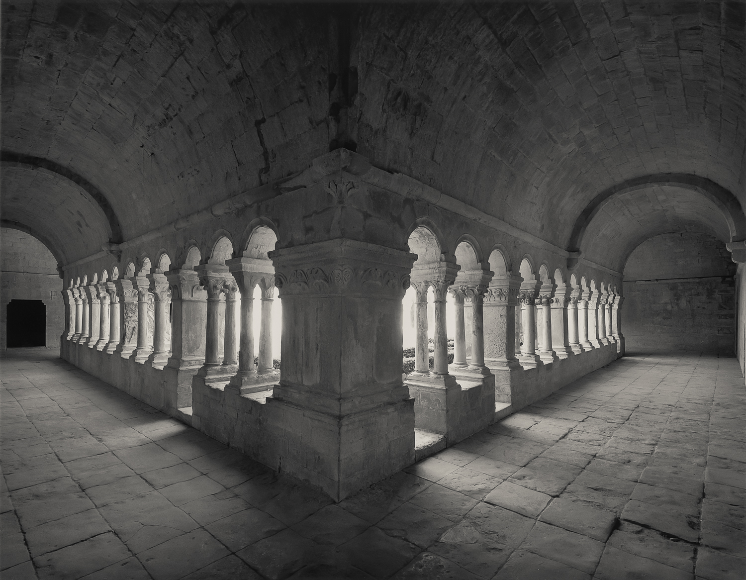 Galleries of the Cloister, Sénanque, 1995