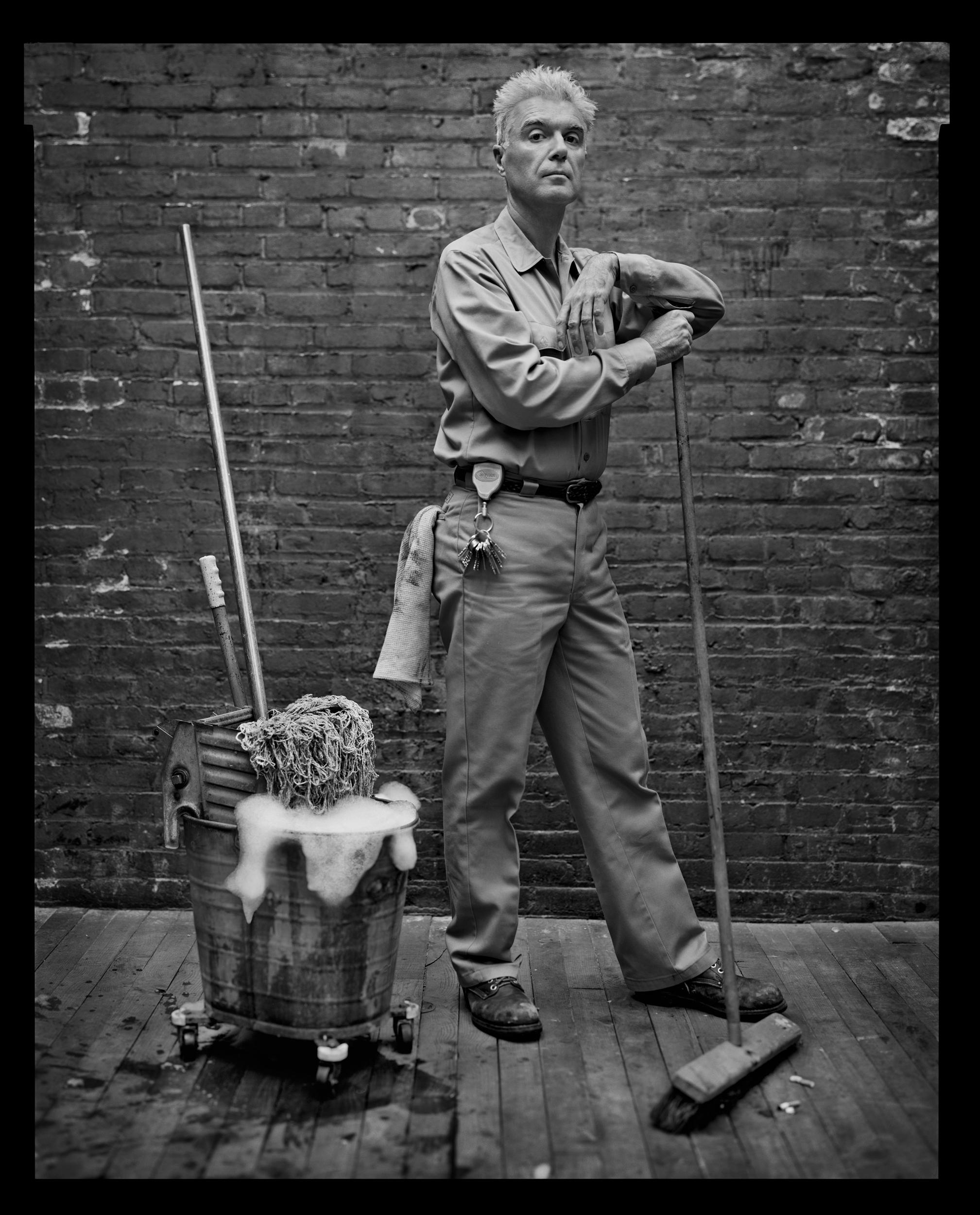 David Byrne, New York, NY, 2005