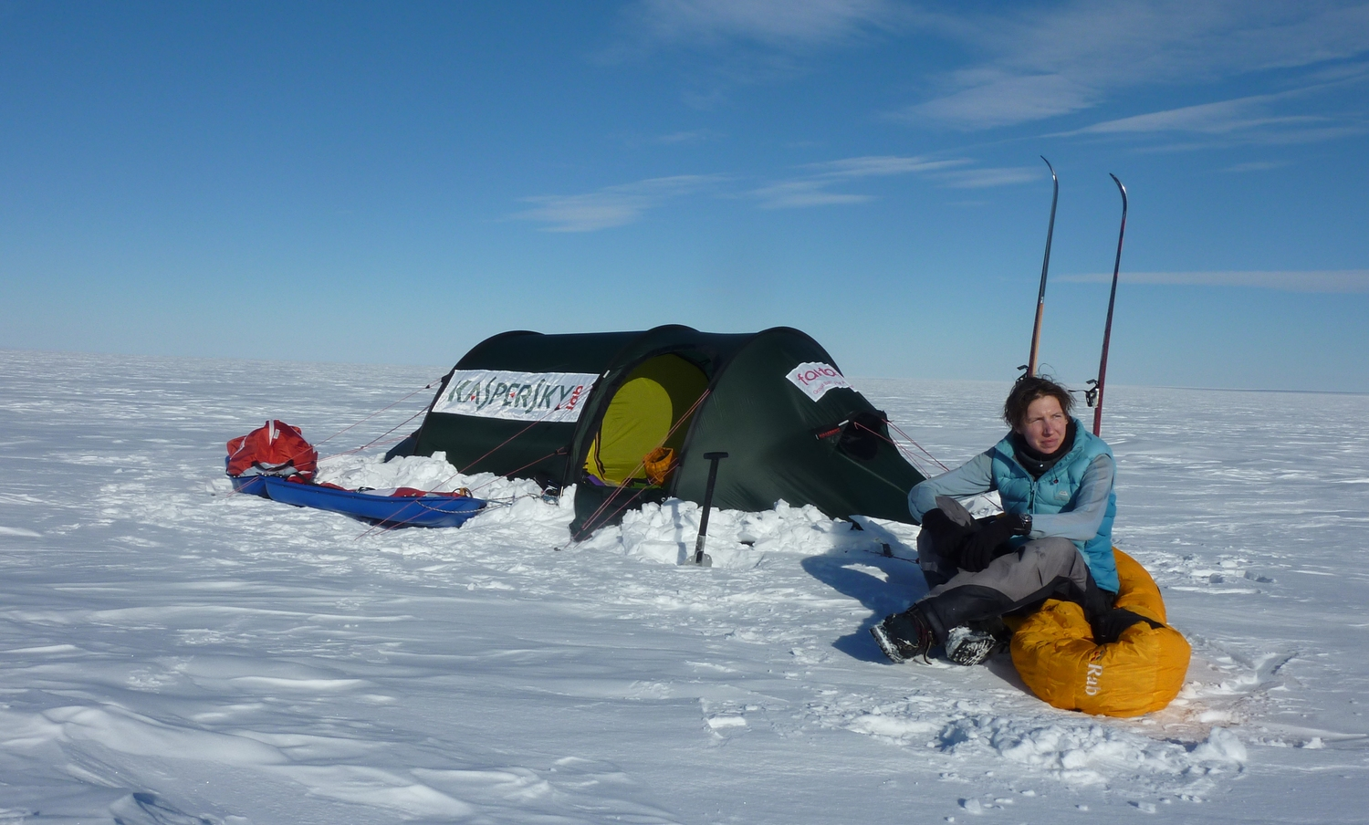 Kaspersky ONE Trans-Antarctic Expedition — Felicity Aston