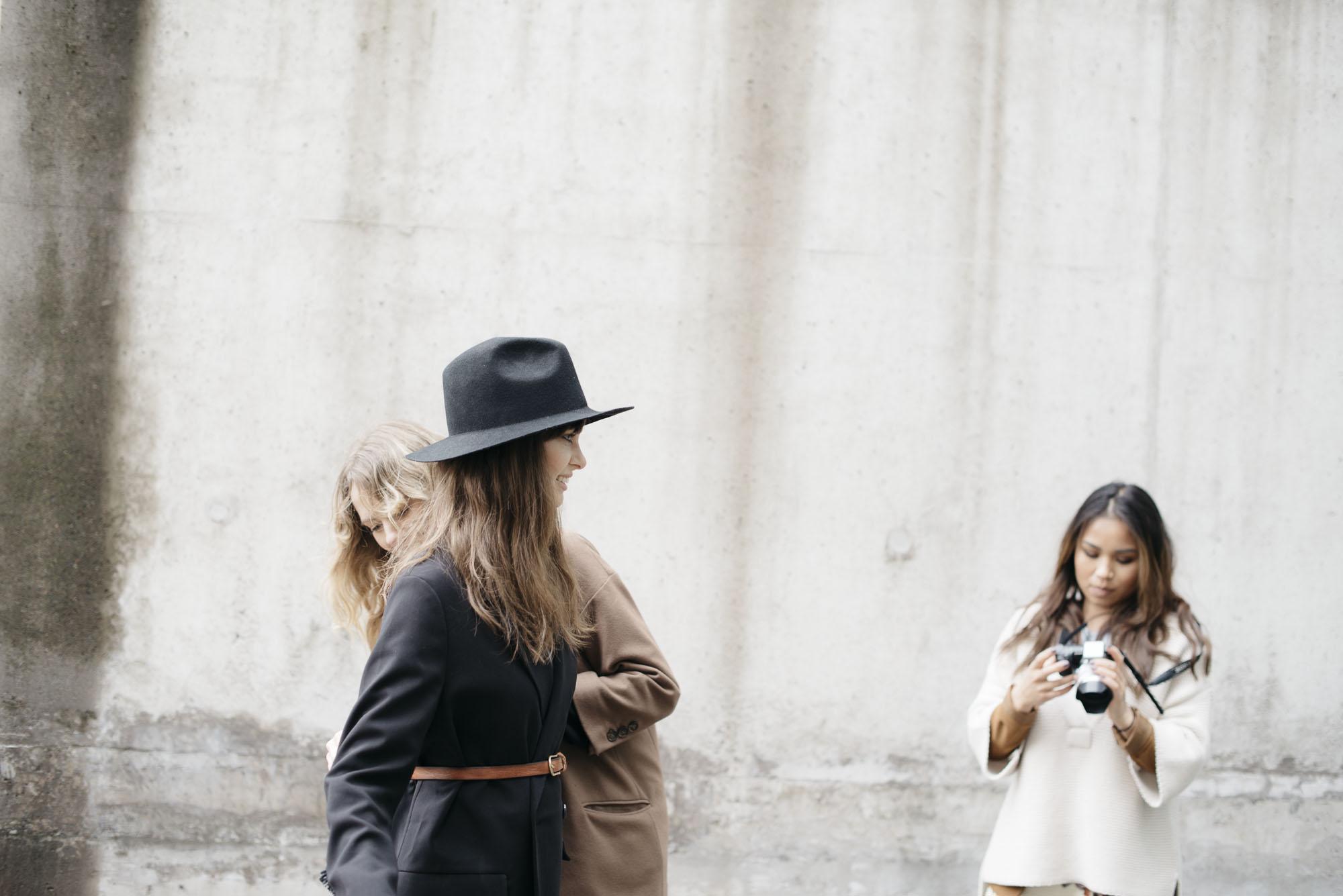 MUA Elin and Stylist Evelina with Anna